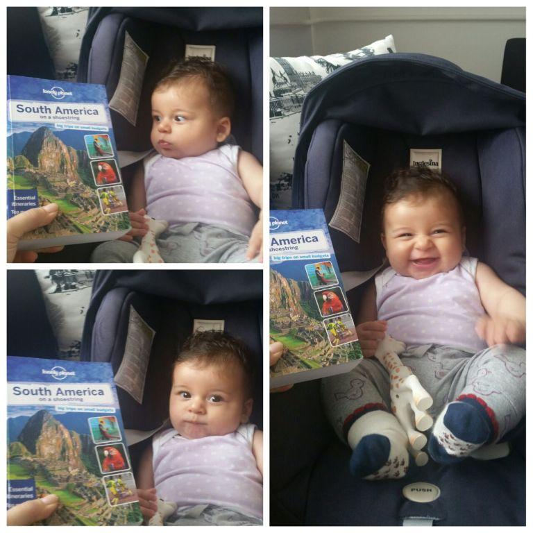 Küçük yeğenim de beni bu seyahatim için destekledi; başta şaşırdı ama sonrasında en çok o sevindi :)Mina'ya sevgilerle..
