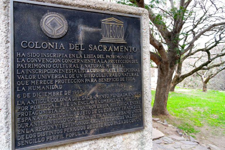 Uruguay'ın Unesco Dünya Mirası Listesi'nde yer alan tek bölgesi; Colonia del Sacramento'nun Tarihi Kent Merkezi