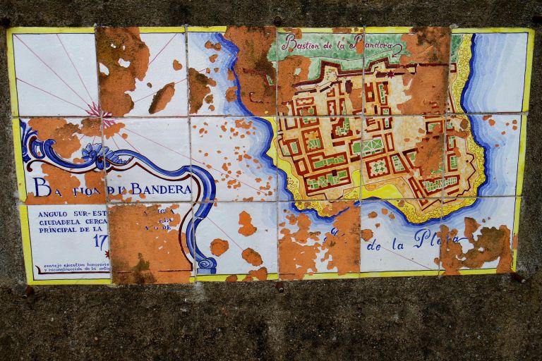 Colonia del Sacramento'daki Portekiz etkisi, seramik eski haritalarda yaşıyor!