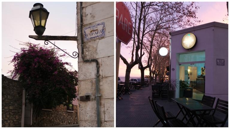 Bortolot Gelato ve pespembe gökyüzü :)